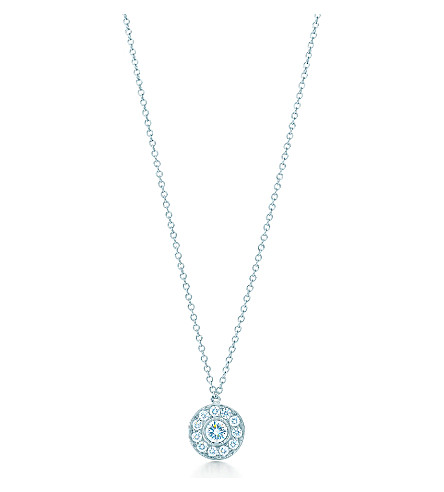 TIFFANY & CO Tiffany Circlet pendant of diamonds in platinum