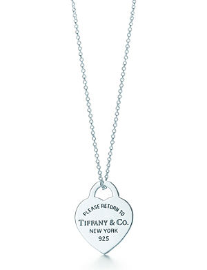 Tiffany co return to tiffany mini double heart tag pendant in tiffany co return to tiffany heart tag pendant mozeypictures Choice Image