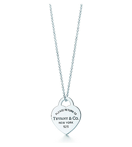 TIFFANY & CO Return to Tiffany Heart Tag Pendant