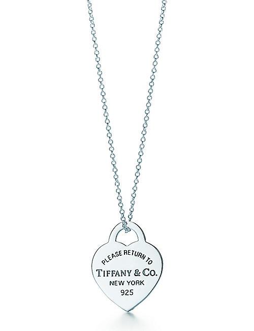 Tiffany co fine jewellery jewellery watches selfridges tiffany co return to tiffany heart tag pendant aloadofball Images