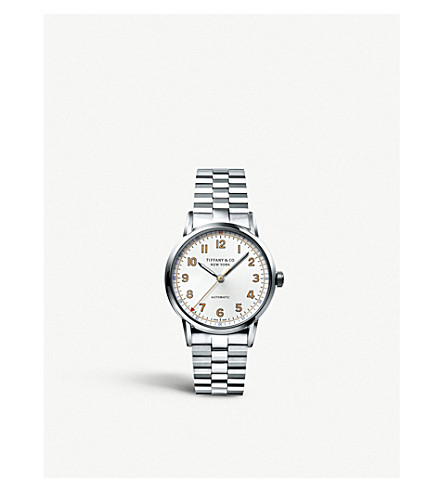 TIFFANY & CO Tiffany CT60 3-Hand 34mm watch in stainless steel