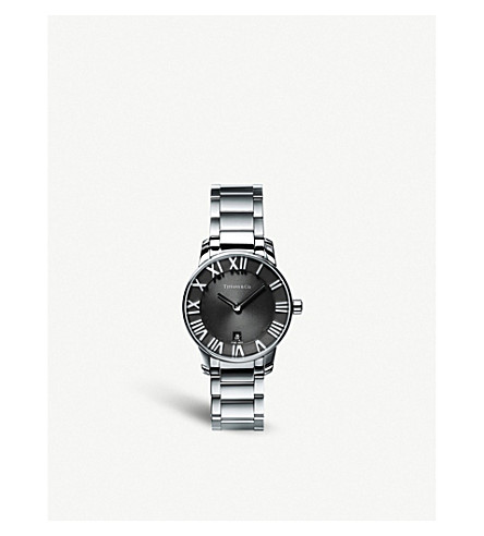 TIFFANY & CO Atlas® 2-Hand 29mm women's watch in stainless steel