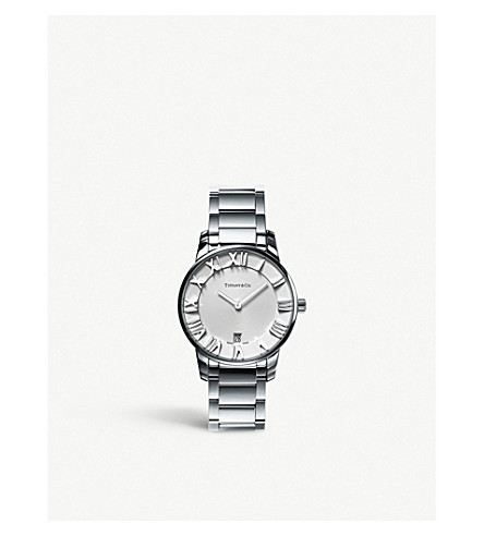 TIFFANY & CO Atlas® 2-Hand 37.5mm watch in stainless steel