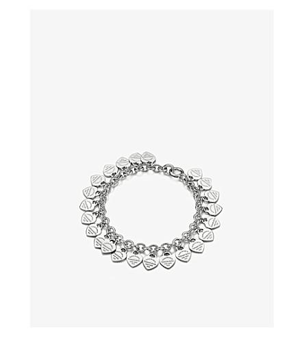 TIFFANY & CO Return to Tiffany Multi-Heart Tag sterling silver bracelet
