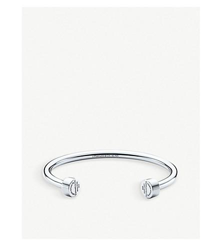 TIFFANY & CO Return to Tiffany™ Sterling Silver Circle Edge Cuff