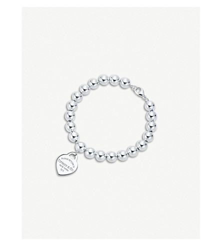 TIFFANY & CO Return to Tiffany™ Sterling Silver Heart Tag Bracelet