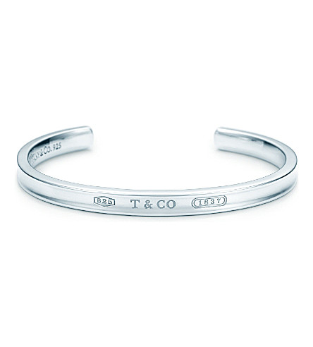 TIFFANY & CO Tiffany 1837 cuff in sterling silver