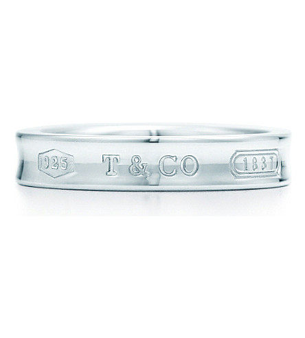 TIFFANY & CO Tiffany 1837™ ring in sterling silver