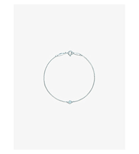 TIFFANY & CO Elsa Peretti® Diamonds by the Yard® bracelet in sterling silver