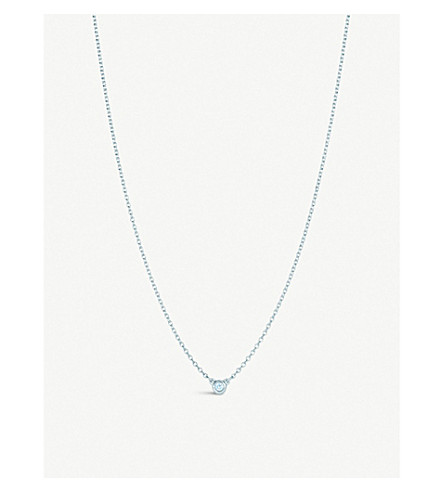 TIFFANY & CO Elsa Peretti® Diamonds by the Yard® pendant in sterling silver