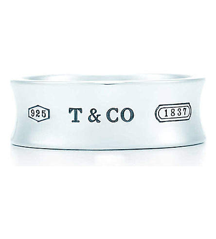 TIFFANY & CO Tiffany 1837 ring in sterling silver
