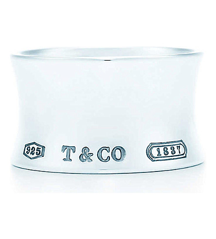 TIFFANY & CO Tiffany 1837 wide ring in sterling silver