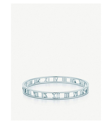 TIFFANY & CO Atlas® narrow bangle in sterling silver