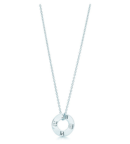 TIFFANY & CO Atlas® pierced pendant in sterling silver