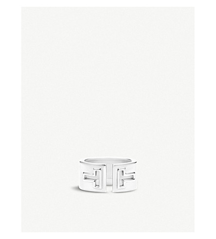 TIFFANY & CO Tiffany T cutout ring in sterling silver