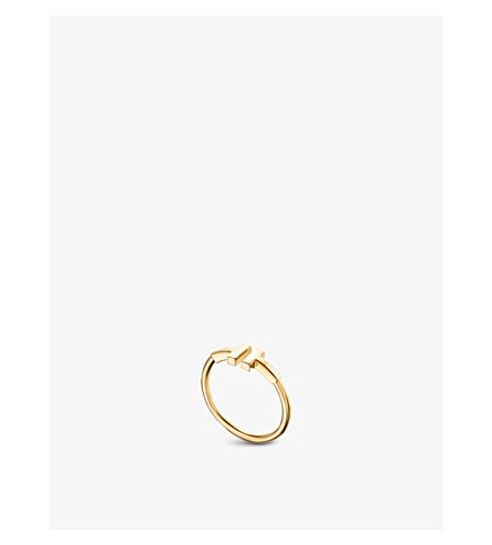 TIFFANY & CO Tiffany T wire ring in 18k gold
