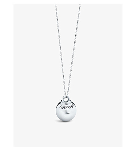 TIFFANY & CO Tiffany City HardWear sterling silver ball pendant (Silver