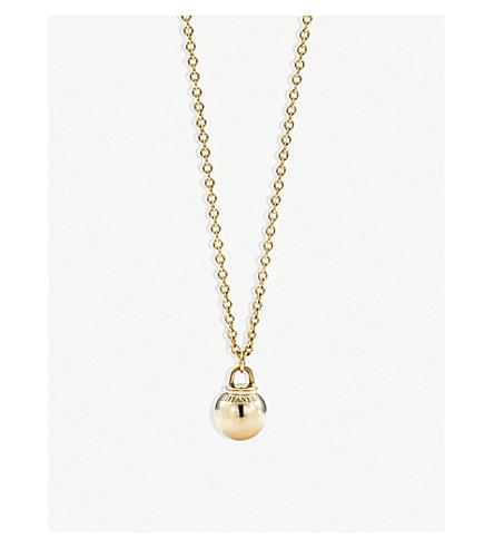 TIFFANY & CO Tiffany City HardWear 18k gold ball pendant (Gold