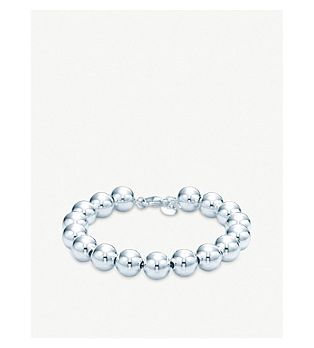 TIFFANY & CO Tiffany Beads sterling silver bracelet (Silver