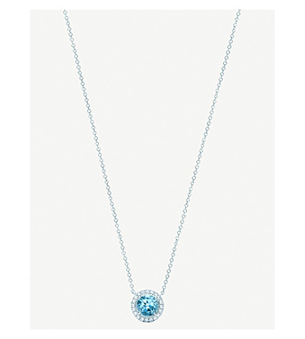 aqua k necklace fine marine and jewelry diamond lauren aquamarine
