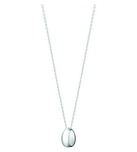 GEORG JENSEN Astrid sterling silver pendant small