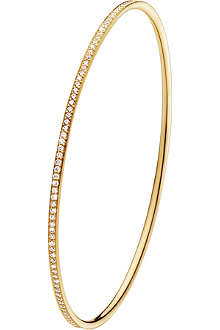 GEORG JENSEN Magic 18ct gold diamond bangle
