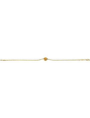 GEORG JENSEN Moonrise 18ct gold bracelet with citrine