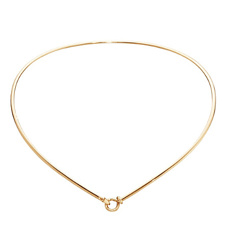 GEORG JENSEN Dew Drop 18ct yellow-gold necklace