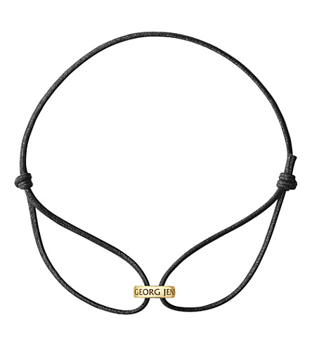 GEORG JENSEN Magic 18ct gold bracelet (Yellow+gold