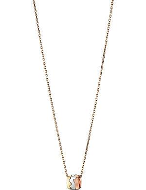 GEORG JENSEN Fusion 18-carat gold pendant necklace