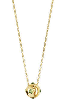 GEORG JENSEN Moonrise 18ct gold pendant necklace