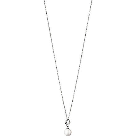 GEORG JENSEN Magic white gold pendant necklace (White+gold