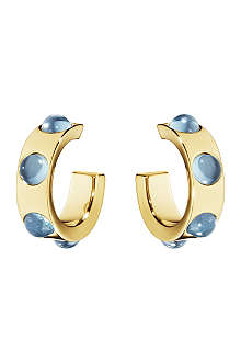 GEORG JENSEN Moonrise 18ct gold earrings