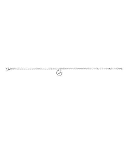 GEORG JENSEN Sterling silver heart bracelet