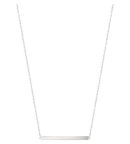 GEORG JENSEN Aria sterling silver bar necklace