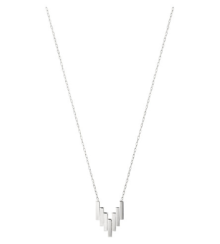 GEORG JENSEN Aria sterling silver pendant