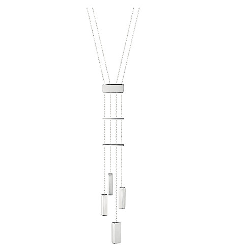 GEORG JENSEN Aria sterling silver four drops necklace
