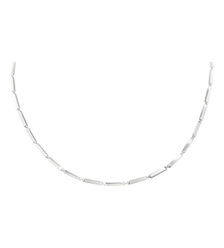 GEORG JENSEN Aria sterling silver chain necklace