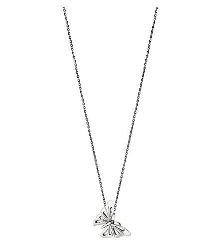 GEORG JENSEN Butterfly sterling silver pendant (Sterling silver