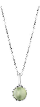 GEORG JENSEN Spirit sterling silver and phrenite pendant