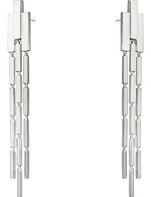 GEORG JENSEN Aria sterling silver chandelier earrings