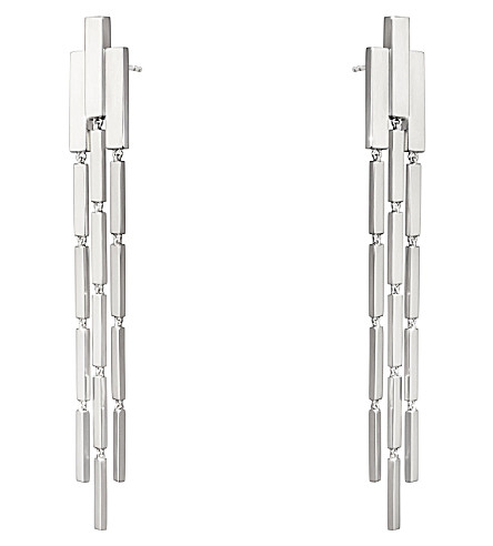 GEORG JENSEN Aria sterling silver chandelier earrings
