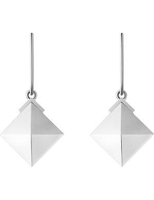 GEORG JENSEN Nocturne sterling silver earrings