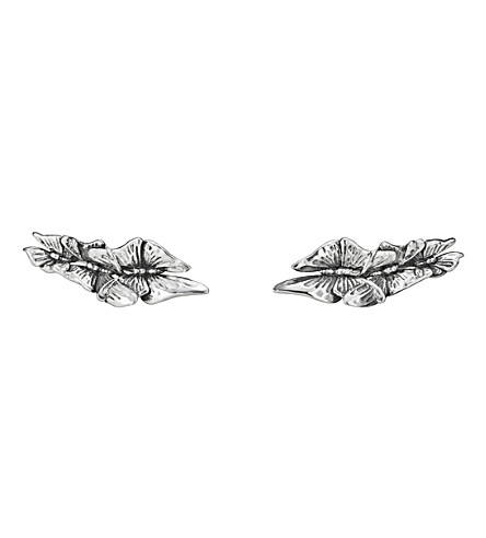 GEORG JENSEN Askill oxidated sterling silver ear cuffs