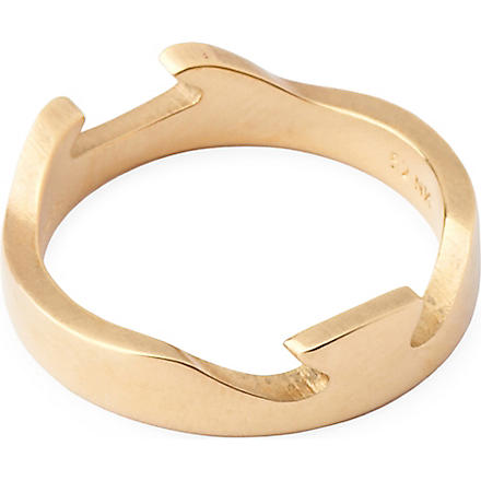 GEORG JENSEN Fusion 18 karat gold ring (Yellow+gold