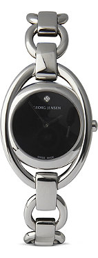 GEORG JENSEN Eve stainless steel watch