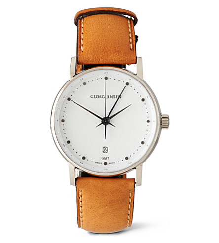GEORG JENSEN Koppel chronograph watch (White