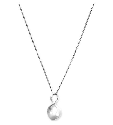 GEORG JENSEN Infinity sterling silver pendant