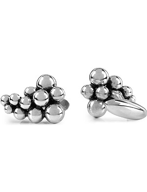 GEORG JENSEN Moonlight Grapes sterling silver cufflinks