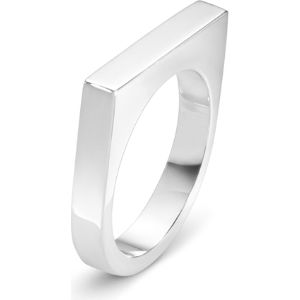 Aria sterling silver slim ring